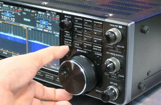 Icom IC-7610 (Version 1.06), IC-7300 (Version 1.21) and IC-R8600 (Version 1.31) Firmware Updates