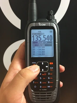 Introducing Icom's IC-A25NE Next Generation Airband Radio