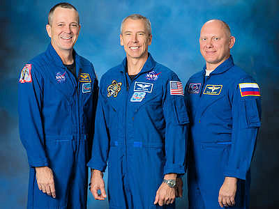 Ham-Astronaut Part of New Space Station Crew Heading into Space on March 21