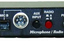 MFJ-1263 – MIC / RIG switch, 2 MIC to 2 RIG