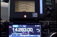 ICOM IC-7300 analogue {analog} s-meter prototype testing