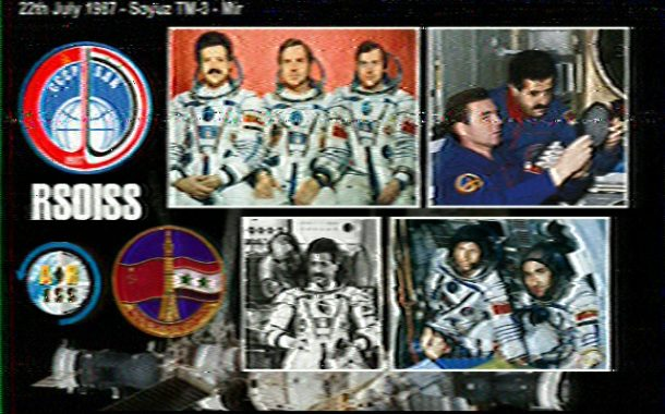 Many Post ARISS-Russia Interkosmos Slow-Scan Television (SSTV) Images