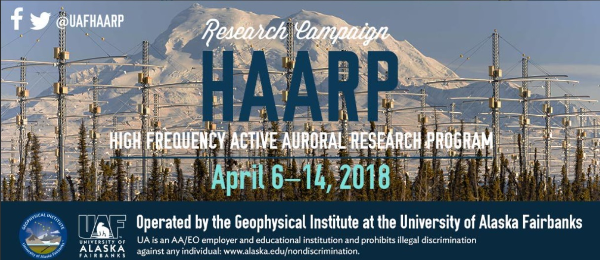 HAARP Facility to Resume Ionospheric Research this Week