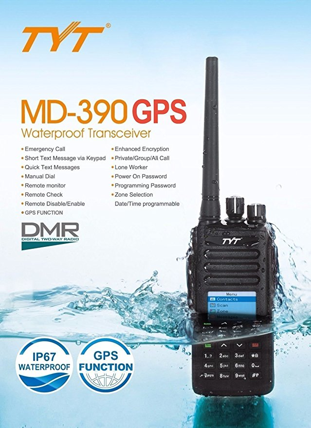 Unboxing the TYT MD-UV380/390 Dual Band DMR HT