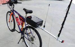 Biking and Playing Ham Radio (NEQP 2018)