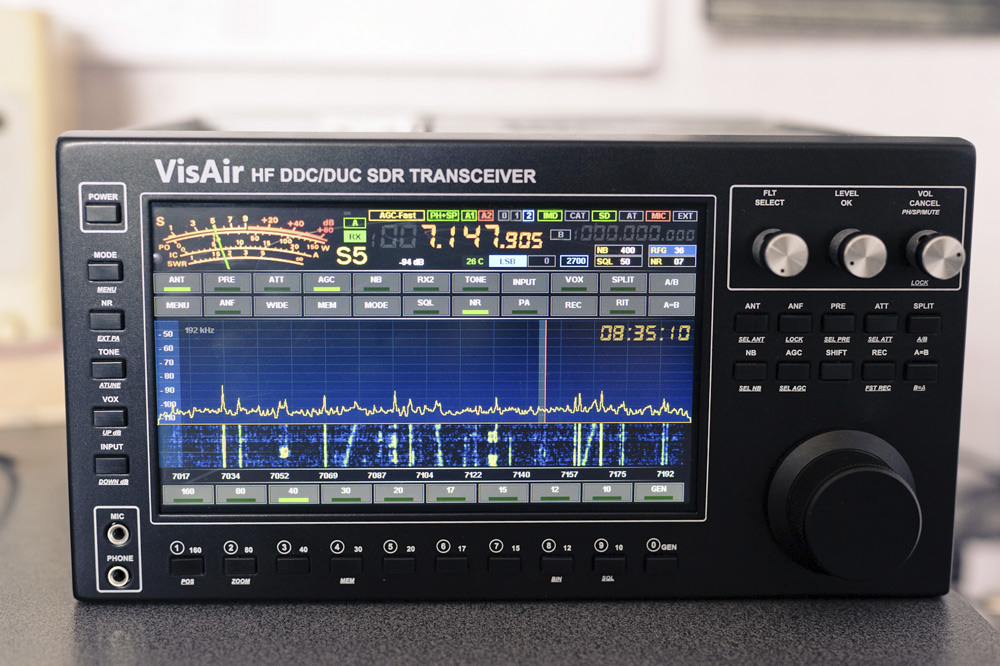 VisAir – HF DSP Transceiver Standalone DDC DUC