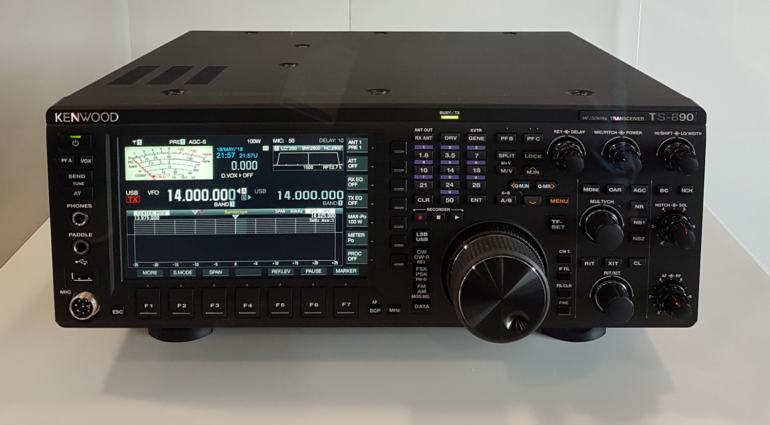 Kenwood  TS 890S at HamNation [ Video ]