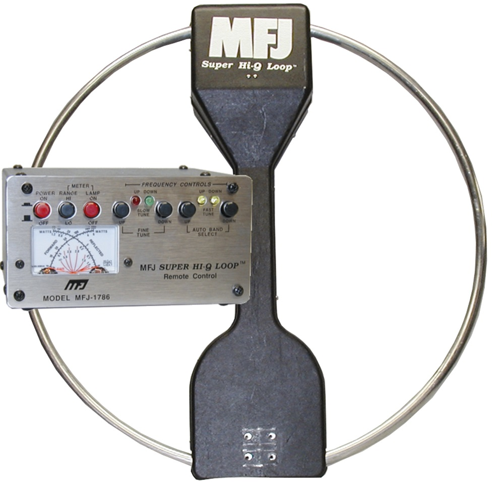 Using the MFJ-1788 Mag Loop Antenna Horizontally