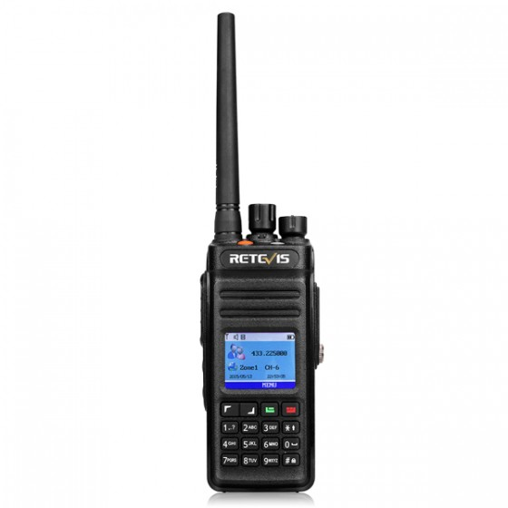 Retevis RT83(GPS) 10W IP67 DMR Digital UHF Radio