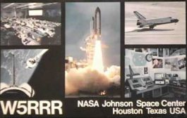 Johnson Space Center Amateur Radio Club Fires Up 1950s Vintage Gear for NASA on the Air Special Event