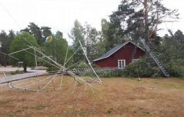 Storm Takes Down Antennas at Memorial Ham Station on Swedish-Norwegian Border