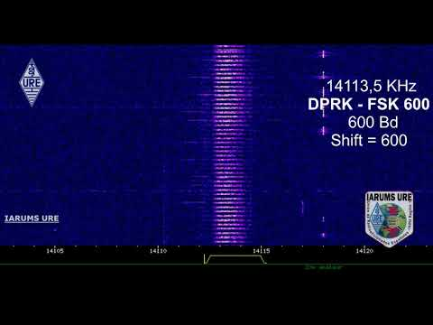 DPRK – FSK 600 – It's the unofficial name given to North Korea's diplomatic communications modem.