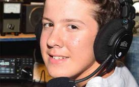 Bryant Rascoll, KG5HVO, is 2018 Newsline Young Ham of the Year