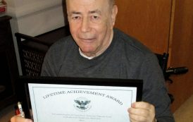Dave Popkin, W2CC/AAR2BU Receives Presidential Lifetime Achievement Award