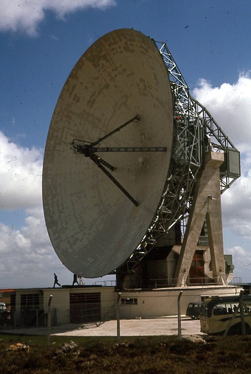 Goonhilly 32-Meter Dish to be Active on Moonbounce on September 1 – 2