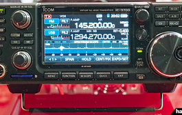 ICOM IC-9700 – DEMONSTRATION DURING HAM FAIR 2018