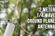 2 Meter VHF Quarter Wave Ground Plane Antenna – Ham Radio Q&A