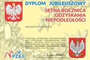 Award programme 100th Anniversary of Polish Independence