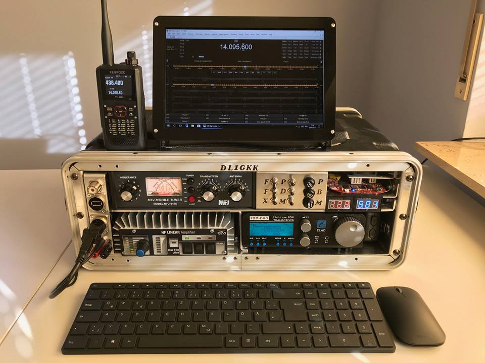 Ham Radio GoBox Update 2018 by DL1GKK