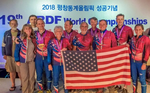 US ARDF Team Tops its Own World Championships Medal Count in Korea