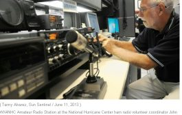 ARRL Headquarters, Hurricane Watch Net, SATERN Monitoring Active Storms