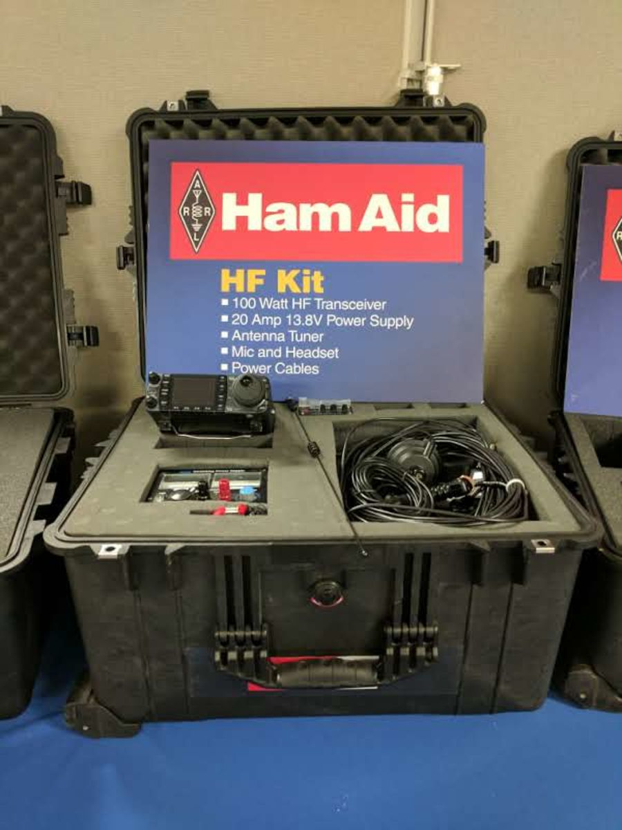 Ham radios used in Hurricane Maria aftermath sent to South Carolina