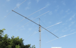 MONO 5 20-  is a fullsize antenna for the 5 el band of 20 meters