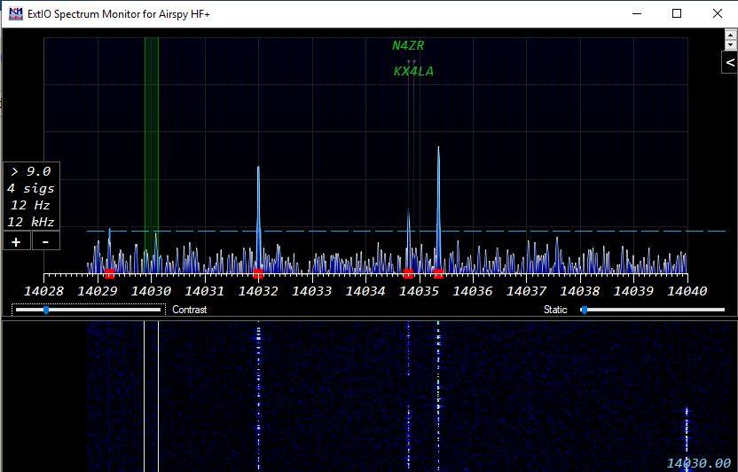 N1MM- I/Q input to Spectrum Window – Ham Radio Logging