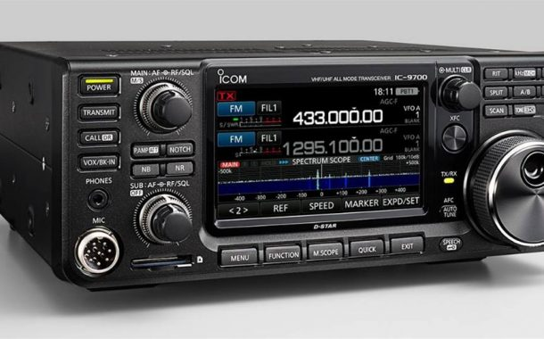 IC-9700 – Direct Sampling Brought to the VHF/UHF World