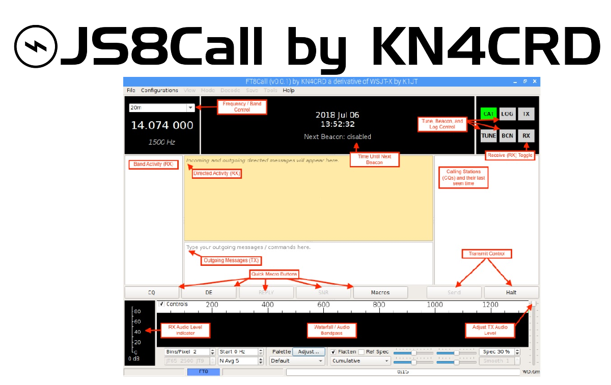 FT8CALL = JS8CALL, Where Are The Signals?
