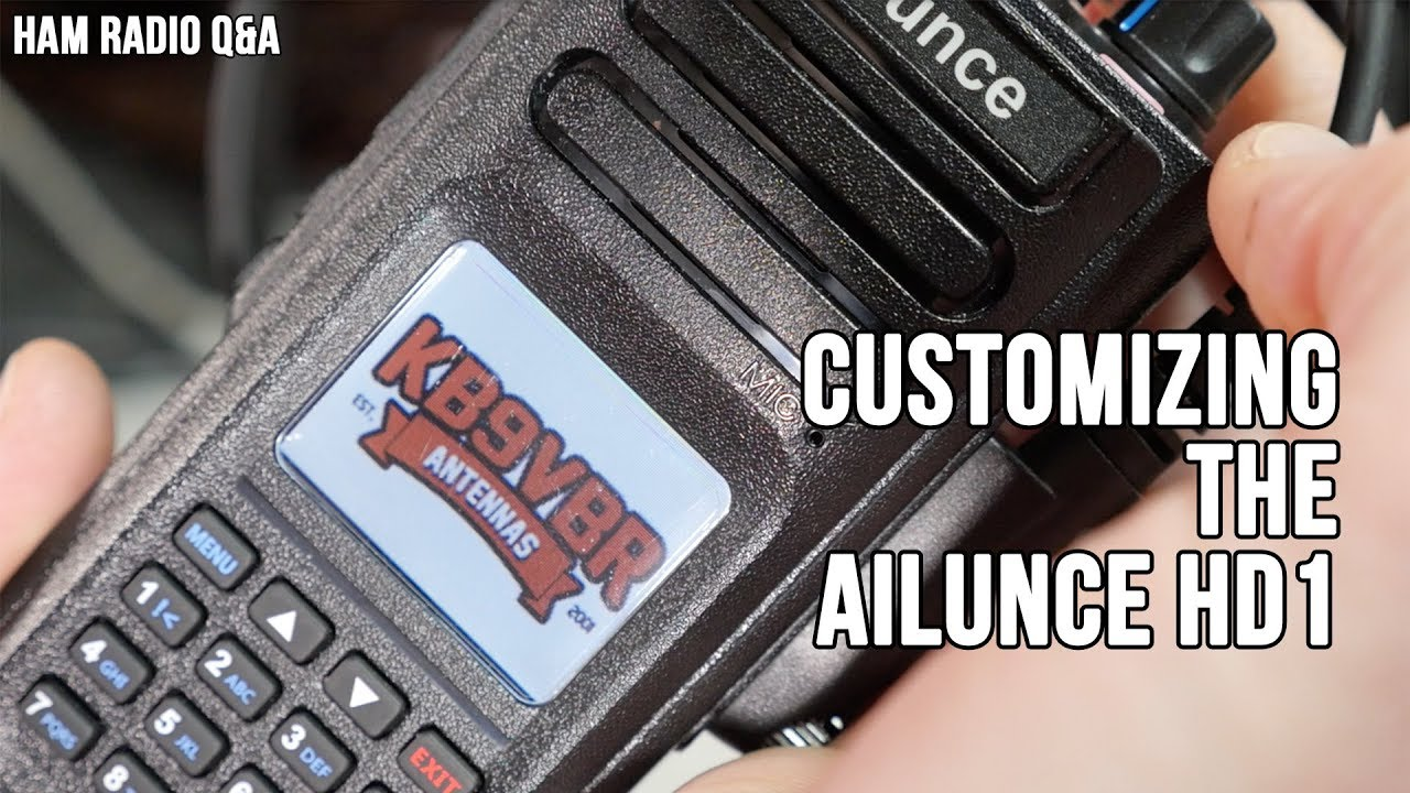 Customizing the Ailunce HD1