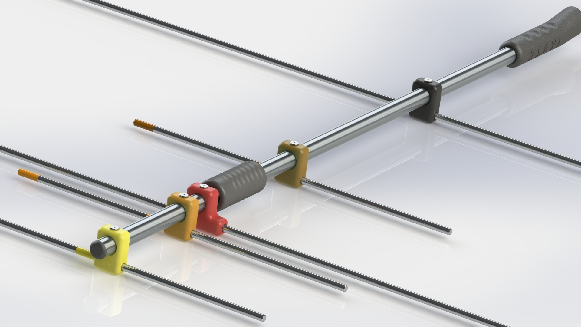 The AMSAT SA 2 m / 70 cm dual-band Yagi antenna is now available