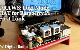 Digi Mode Ham Radio Hat for Raspberry Pi