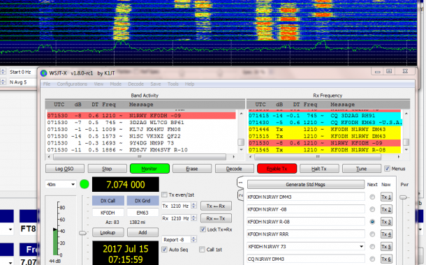 FT8 Enthusiasts Urged to Upgrade Now