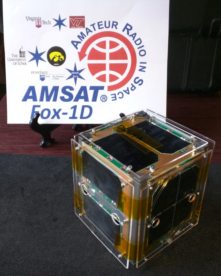Fox-1Cliff Designated AMSAT-OSCAR 95 (AO-95)