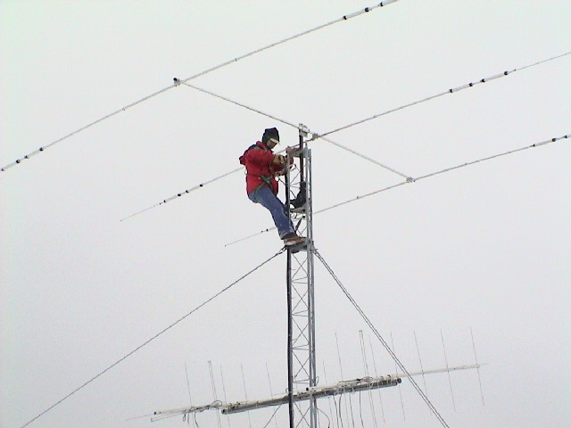 Fixing a brand new Cushcraft A3S beam antenna