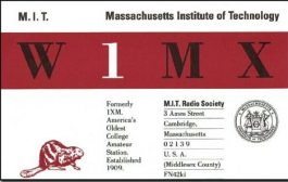 MIT Radio Society, EE and Computer Science Department Hosting Radio Technology Lectures