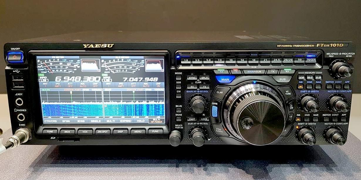 Yaesu FT-DX101D ! Watch the whole video as we ask Yaesu the questions you want answered!