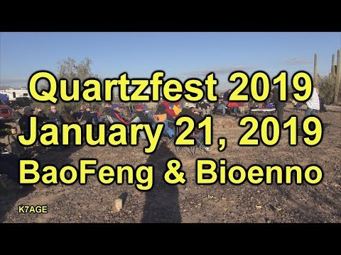 Quartzfest Jan 20, 2019 BaoFeng & Bioenno