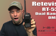 Retevis RT52 Dual Band DMR Radio
