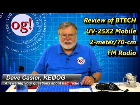 Review of BTECH UV-25X2 Mobile 2m/70cm FM Radio