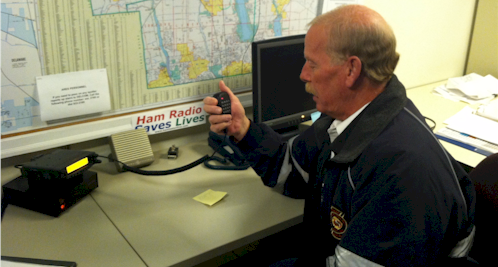"Ohio ARES Provides ""Situational Awareness"" During January Blizzard"