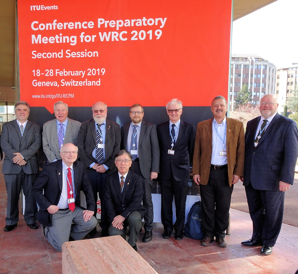 IARU Represents Amateur Radio at WRC-19 Preparatory Meeting