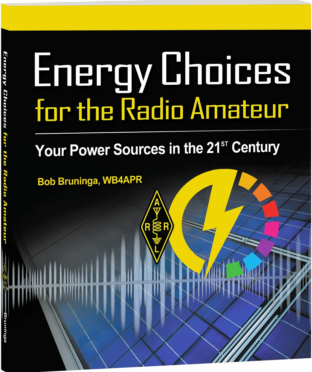 New Book, Energy Choices for the Radio Amateur, Now Shipping