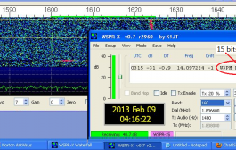 The WSPR Heard 'Round the World