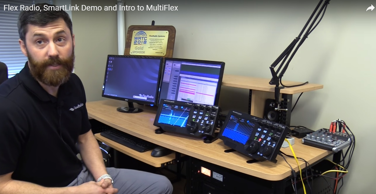Flex Radio, SmartLink Demo and Intro to MultiFlex
