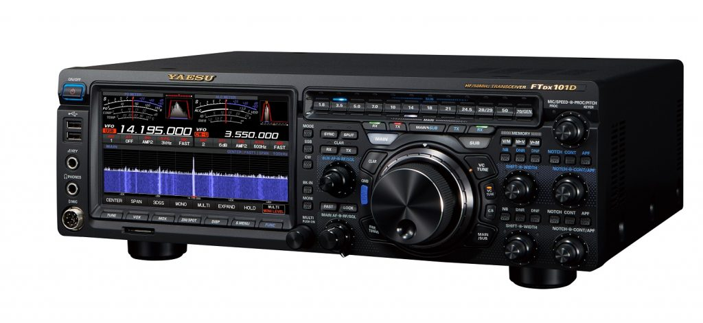 First Look at the new Yaesu FTDX-101D – DXEngineering