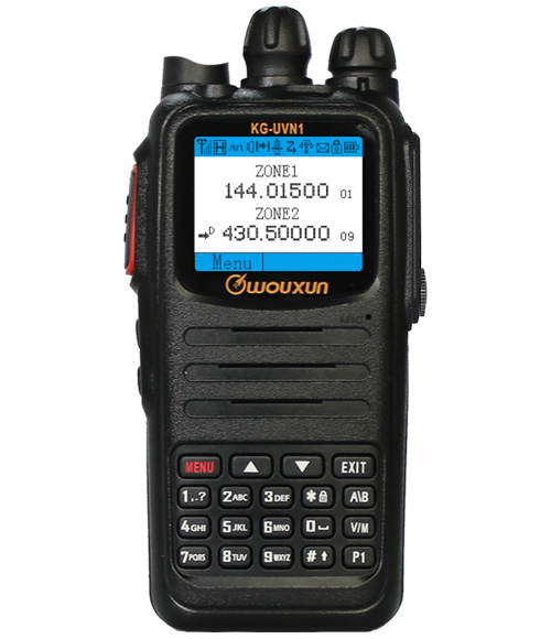 Wouxun KG-UVN1 Dual Band DMR Review