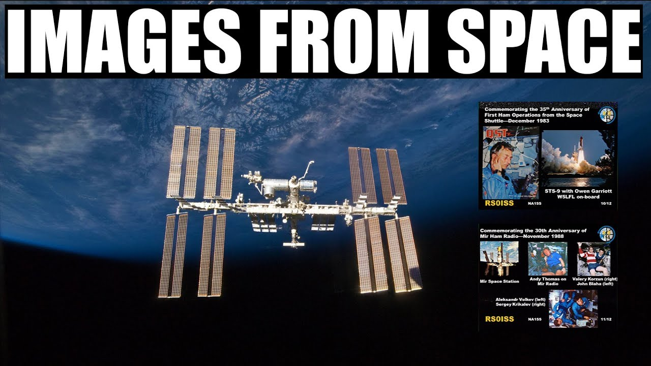 INTERNATIONAL SPACE STATION SSTV EVENT ON APRIL 11 – 14