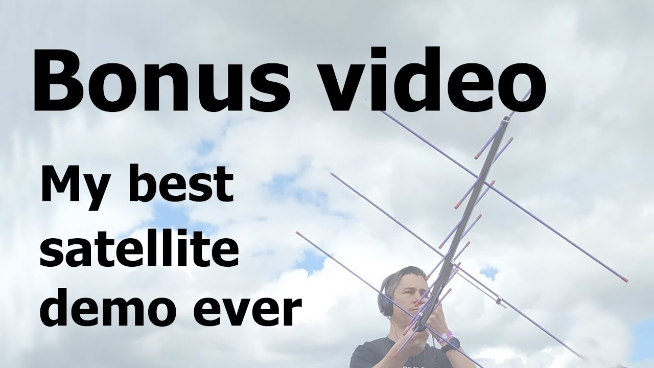 My best Satellite Demo Ever – 18 QSOs